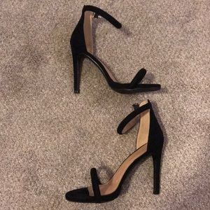 Boohoo black pumps